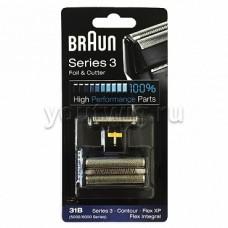 Braun 31B Replacement Foil and Cutter Cassette Multi Black BLS Combi Pack (81387938)